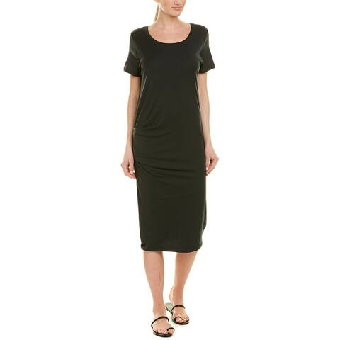 James Perse Ruched T-Shirt Dress