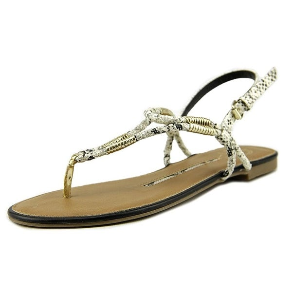 New Directions Fame Women Synthetic Thong Sandal