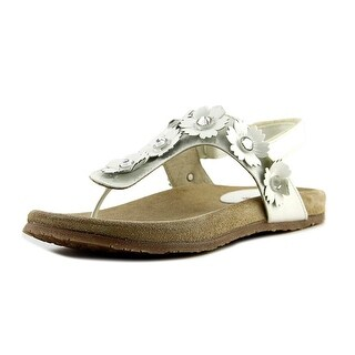 Equerry Cloe EW Open Toe Synthetic Thong Sandal