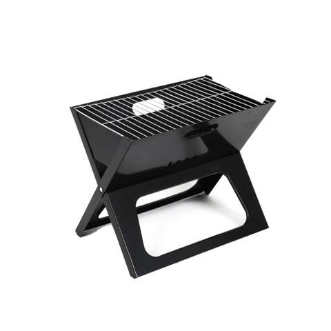 ALEKO Premium Foldable Outdoor Tabletop Charcoal Barbecue X Grill