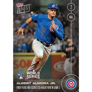 Chicago Cubs Albert Almora Jr. (Rc) #661 Topps Now Ahead Run In 10th Inning - multi