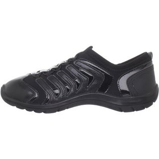 Capezio Womens Snakespine Leather Stretch Dance Shoes - 5.5 medium (b,m)