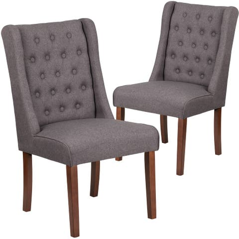 2 Pack LeatherSoft Parsons Chair-Side Panel Detail