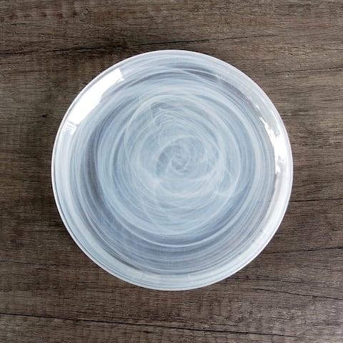 """NUAGE Ivory 6.5"""" Canapé Plate"""