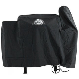 Pit Boss 73440 Vinyl 440 Exact Fit Grill Cover, Black