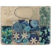 28 Lilac Lane Embellishment Kit-Let It Snow