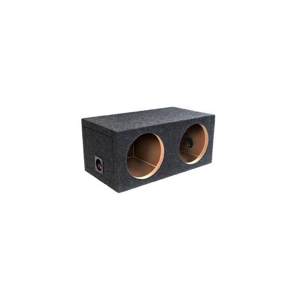 Atrend Enclosures ATRE12DW Bbox Pro Series Dual 12- Inch Sealed Subwoofer Enclosure