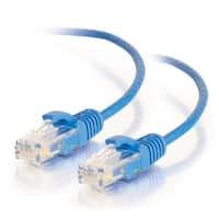 7 ft. Cat6 Snagless Unshielded UTP Slim Ethernet Network Patch