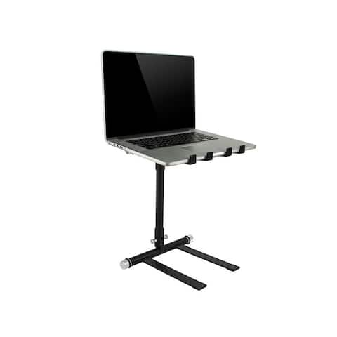 Monoprice Laptop Stand For DJs, Collapsable For Portability, Supports Laptops Up To 17in With Max 10 lbs Weight