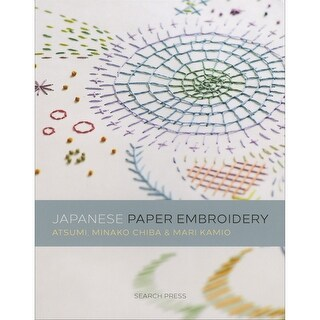 Search Press Books-Japanese Paper Embroidery