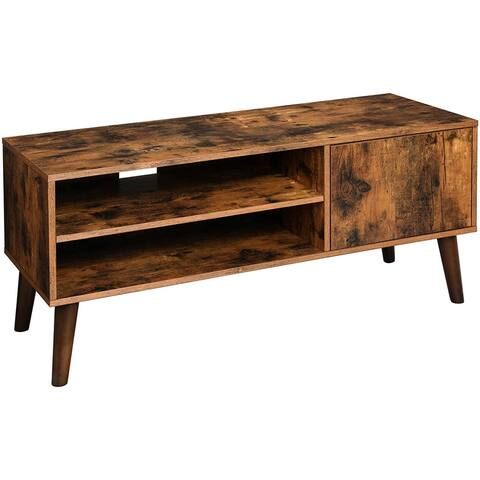 TV Stand, TV Console for TVs up to 43 Inches, Mid-Century Modern Entertainment Centre for Flat Screen TV
