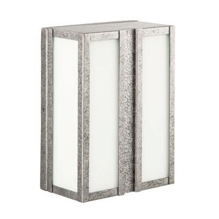 """Park Harbor PHEL2001 Willow Hill 12"""" Tall 2 Light Energy Star Outdoor Wall Sconce"""