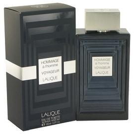 Hommage A L'homme Voyageur by Lalique Eau De Toilette Spray 3.3 oz - Men
