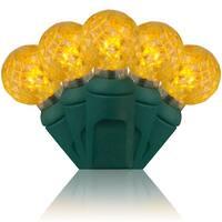 Wintergreen Lighting 50589 70 Bulb G12 Gold LED String Lights