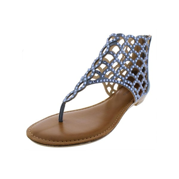 5ee5bbb51b0780 Shop Zigi Soho Womens Melaa Thong Sandals Rhinestone - Free Shipping ...