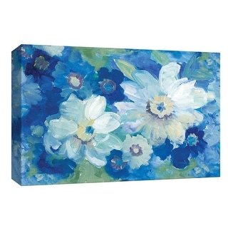 "PTM Images 9-148147  PTM Canvas Collection 8"" x 10"" - ""Blue Nocturne I"" Giclee Flowers Art Print on Canvas"