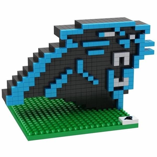 Carolina Panthers 3D NFL BRXLZ Bricks Puzzle Team Logo