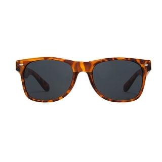 Vintage Classic Leopard Tortoise Wayfarer Style Sunglasses - One Size