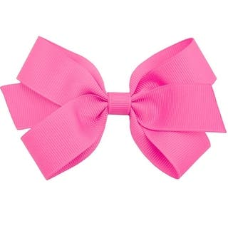 Reflectionz Girls Dark Pink Solid Grosgrain Bow Alligator Hair Clippie|https://ak1.ostkcdn.com/images/products/is/images/direct/541ec60354d209e895328a1f6088342248392306/Reflectionz-Girls-Dark-Pink-Solid-Grosgrain-Bow-Alligator-Hair-Clippie.jpg?impolicy=medium