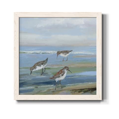 Seabird Beach I-Premium Framed Canvas - Ready to Hang
