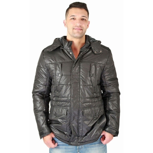 78ebdc37fc3 Shop Urban Republic Men s Quilted Faux Down Jacket Winter - Free ...