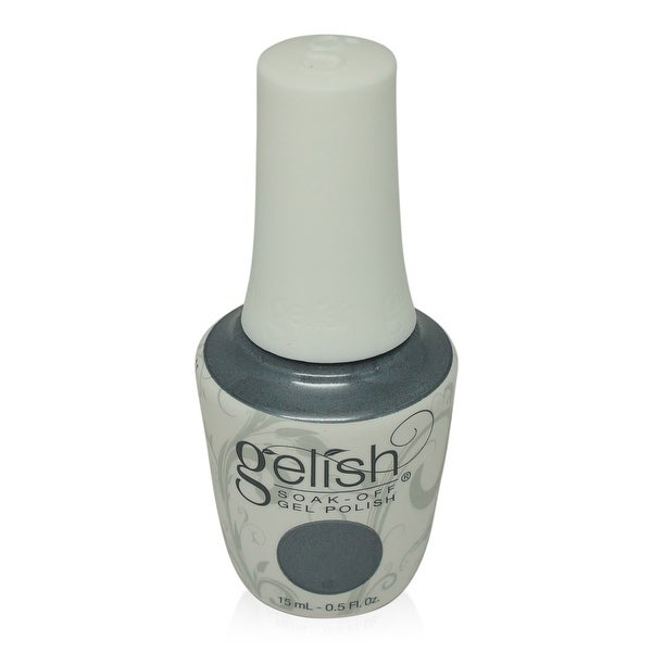 Gelish - Soak-Off Gel Polish Dark Grey Metallic-Midnight Caller