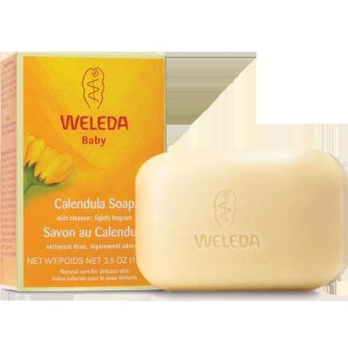 Weleda - Baby Calendula Soap ( 2 - 3.5 OZ)