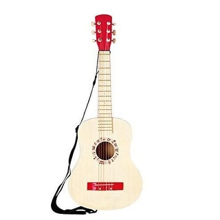 Hape Early Melodies GUITAR Music Set, Children Musical TOY GUITAR, Vibrant Red - vibrant red
