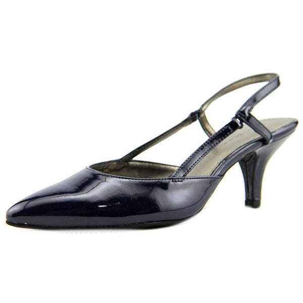 Bandolino I Believe Women Pointed Toe Synthetic Blue Slingback Heel