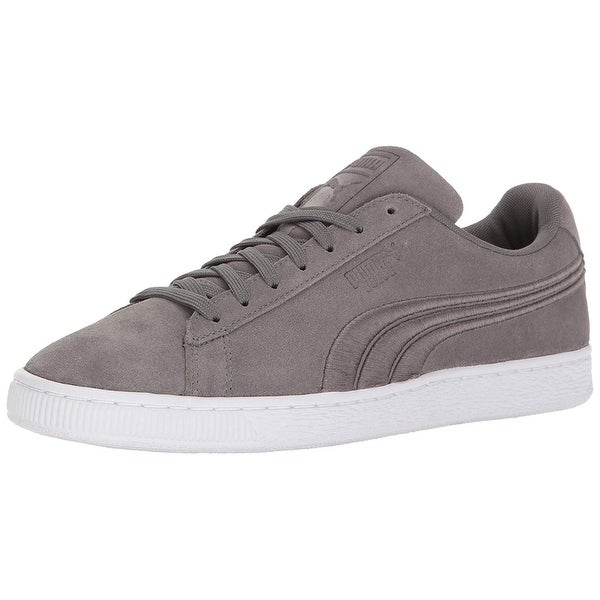 0486608e5bc8 Shop PUMA Men s Classic Badge Fashion Sneaker - 4.5 - On Sale - Free ...