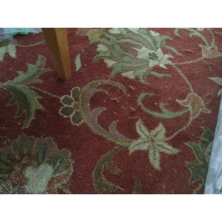 Safavieh Handmade Heirloom Red Wool Rug - 9'6 x 13'6