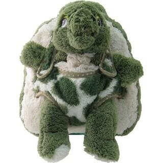 Kreative Kids Unisex Green Turtle Plush Cute Stylish Animal Backpack