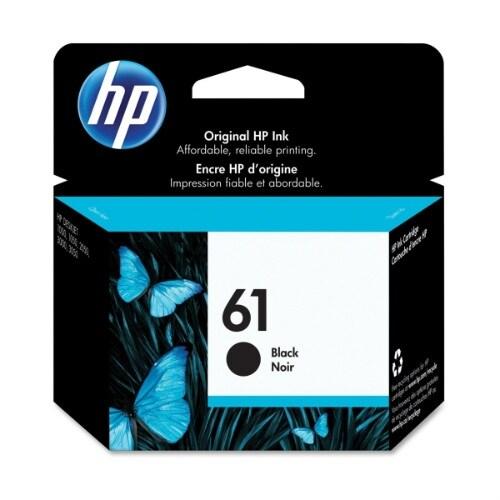 HP CH561WN 61 Black Ink Cartridge