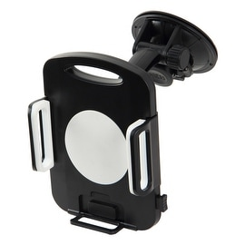 Pilot Automotive Black Adjustable Suction Cup Windshield Tablet Mount Holder For Tablet