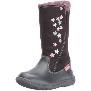 See Kai Run Girls Hallie Mid-Calf Zipper Rain Boots