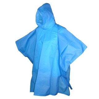 Totes Kids' Hooded Pullover Rain Poncho with Snaps (Pack of 2) - One size