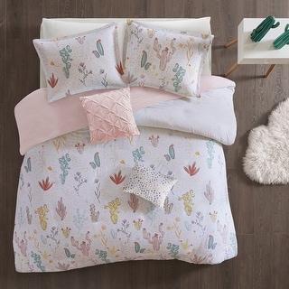Link to Urban Habitat Kids Cacti Red Cotton Printed Duvet Cover Set Similar Items in Kids Duvet Covers & Sets