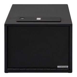 Stack-On Quick Access Safe with Biometric Lock QAS-1512-B