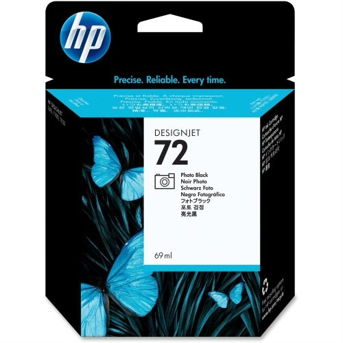 HP 72 69-ml Photo Black DesignJet Ink Cartridge (C9397A) (Single Pack)