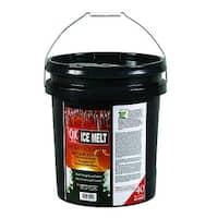 Qik Joe 30040 Ice Melt Calcium Chloride Pellets, 40 Lbs