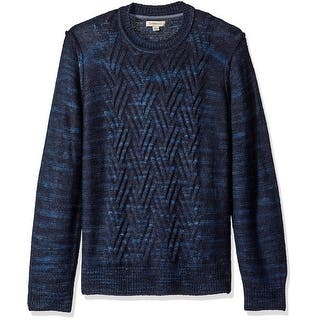 Calvin Klein NEW Blue Mens Size XL Crewneck Marled Cable Knit Sweater|https://ak1.ostkcdn.com/images/products/is/images/direct/542b3f236ebc68ccfb3d463b3953e49d0bfa8a0f/Calvin-Klein-NEW-Blue-Mens-Size-XL-Crewneck-Marled-Cable-Knit-Sweater.jpg?impolicy=medium