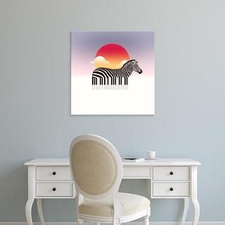 Easy Art Prints Ali Gulec's 'Zeyboard' Premium Canvas Art