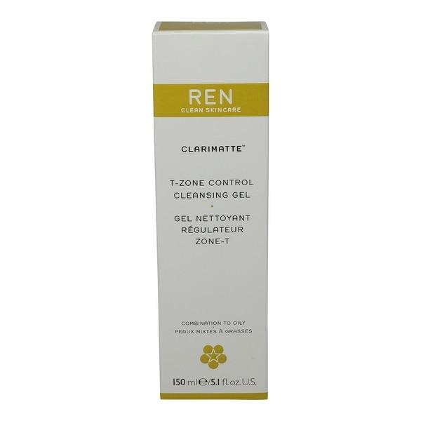 REN Skincare Clarimatte T-Zone Control Cleansing Gel 5.1 Oz