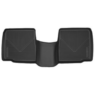 Husky X-act Contour 2015-2016 Ford Explorer 2nd Row Black Rear Floor Mats/Liners