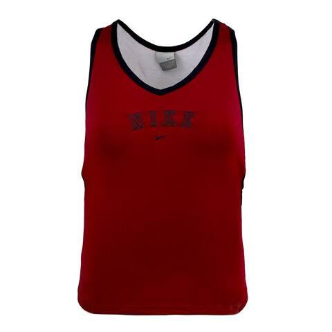 Nike Women's Semi-Fit Tank - Red