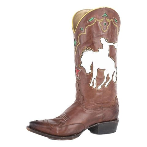 Stetson Fashion Boots Womens Remi Pull On Brown