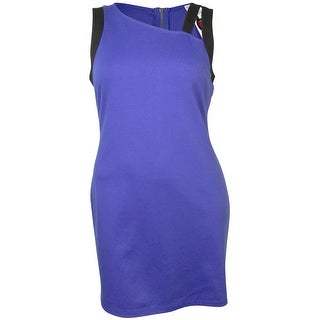 MADE for Impulse Women's Assymetrical Neck Bodycon Dress