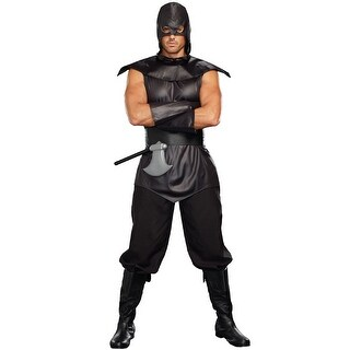 Dreamgirl The Assassin Male Adult Costume - Black