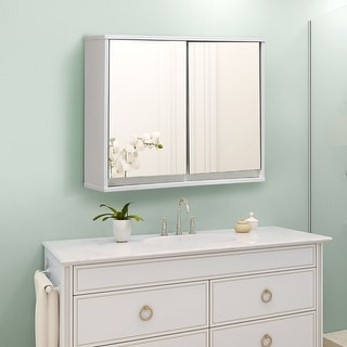 buy wall cabinet bathroom cabinets storage online at overstockcom our best bathroom furniture deals - Wall Mounted Bathroom Cabinet