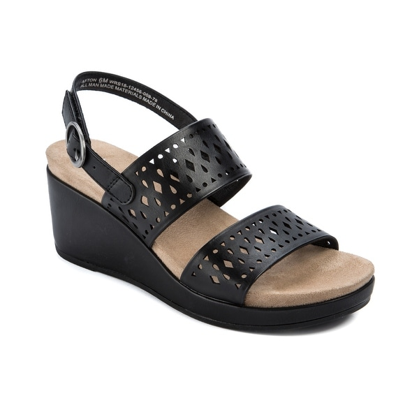 Wear.Ever. Aston Women's Sandals & Flip Flops Black